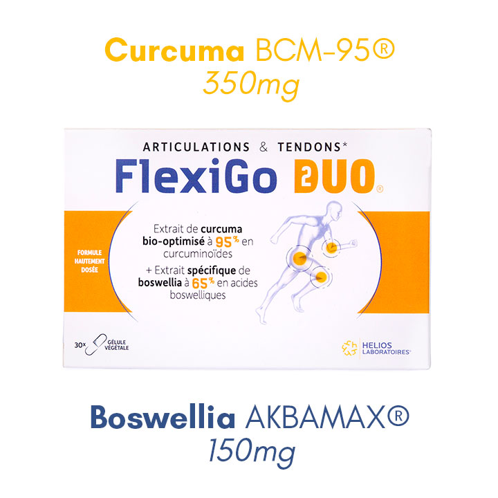FlexiGo Duo curcuma bienfait